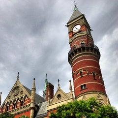 Photo taken at New York Public Library - Jefferson Market by Jon M. on 8/10/2013