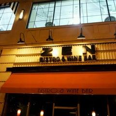 Photo taken at Zen Bistro & Wine Bar by Kassia I. on 9/26/2012
