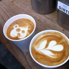 Photo taken at Réveille Coffee Co. Truck by Joey H. on 3/6/2013