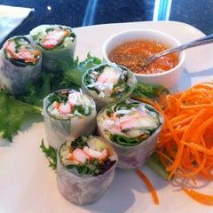 Photo taken at Jasmine Thai Restaraunt Sushi Bar by Laura on 3/12/2013