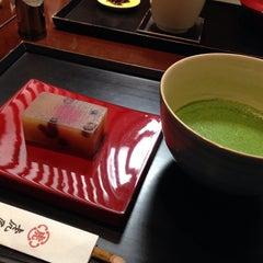 Photo taken at 虎屋菓寮 横浜そごう by Masashi O. on 3/8/2014