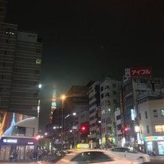 Photo taken at 大門 交差点 by Masashi O. on 9/17/2015