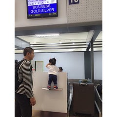Photo taken at Saudia Airlines, NAIA Terminal 1 by Japee A. on 5/3/2015