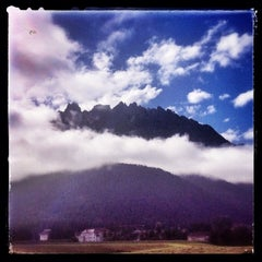 Photo taken at Toblach / Dobbiaco by Alessandra F. on 7/15/2014