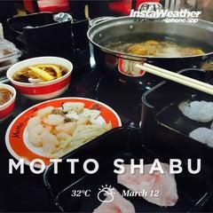 Photo taken at Motto Shabu by Chottanakarn Kevin P. on 3/12/2015