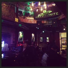 Photo taken at Kryptonite by Chris W. on 1/13/2013