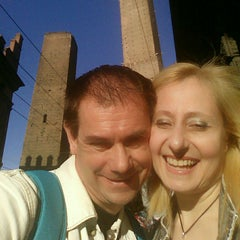 Photo taken at Torre Garisenda by Maria Elisabetta P. on 6/1/2014