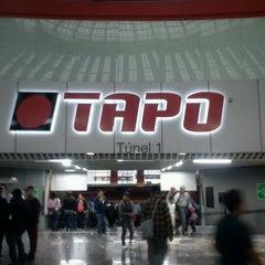 Photo taken at Terminal de Autobuses de Pasajeros de Oriente (TAPO) by Raúl G. on 11/1/2012