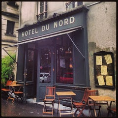Photo taken at Hôtel du Nord by Femke H. on 9/14/2013