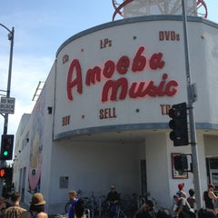Photo taken at Amoeba Music by Keith P. on 6/1/2013