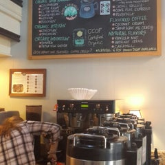 Photo taken at Carmel Valley Coffee Roasting Company by Reina P. on 11/1/2013