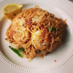 Photo taken at Osha Thai Kitchen by Shiori Y. on 3/24/2013