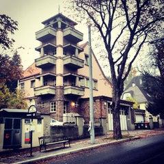Photo taken at Krapfenwaldbad by avtoportret on 10/21/2012