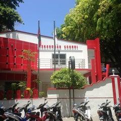 Photo taken at Iskandharu School by Nasheed A. on 4/21/2013