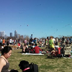Photo taken at Zilker Park by David B. on 3/3/2013