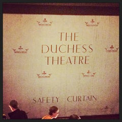 Photo taken at Duchess Theatre by Laurent D. on 9/21/2014