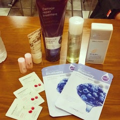Photo taken at The Face Shop by Kathryn V. on 12/2/2014