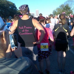 Photo taken at Susan G. Komen Race For The Cure by Sajiah C. on 10/4/2014