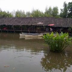 Photo taken at Saung Talaga by Novedial H. on 7/6/2013