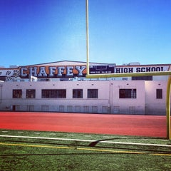Photo taken at Chaffey High School by Gabe R. on 2/13/2013