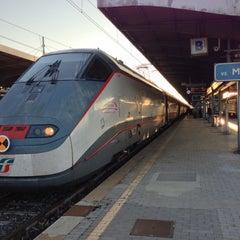 Photo taken at Stazione Venezia Mestre by Yasuyuki K. on 10/24/2012