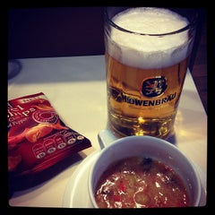 Foto tirada no(a) Lufthansa Business Lounge / Tower Lounge (Non Schengen) por Akihiko S. em 9/23/2012