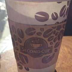 Photo taken at Second Cup by Andrew S. on 10/23/2014