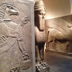 Photo taken at Ancient Near Eastern Art @ The Met by Matthew on 1/30/2015