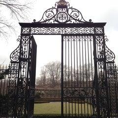 Photo taken at Central Park - Conservatory Garden by Matthew on 3/11/2013