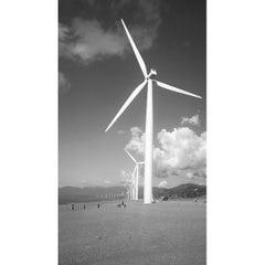 Photo taken at Bangui Windmills by Angelo Glenn M. on 6/13/2015