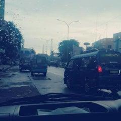 Photo taken at Jalan Margonda Raya by shintya s. on 12/4/2014