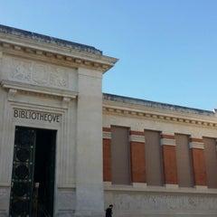 Photo taken at Bibliotheque Du Patrimoine by Damien C. on 6/25/2014