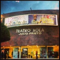 Photo taken at Teatro Julio Prieto by Sinuhé Lord M. on 7/24/2013