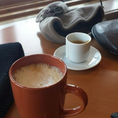 Photo taken at Red Eyes Coffee by Geof F. on 1/31/2015