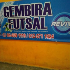 Photo taken at Gembira Parade Futsal Court by Eddy Marican M. on 1/3/2014