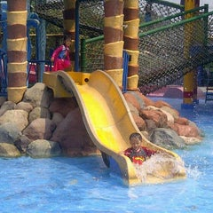 Photo taken at Citra Garden Water Park by Nazibah A. on 9/28/2014