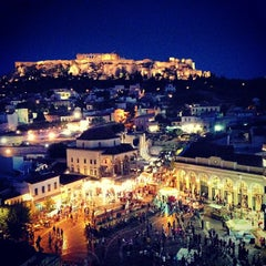 Photo taken at A for Athens by Dimitris P. on 7/5/2013