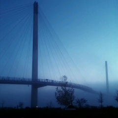 Photo taken at Lewis and Clark Landing by Jim L. on 10/20/2012