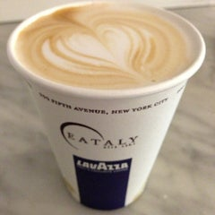 Photo taken at Caffe Lavazza @ Eataly by Benedict C. on 10/2/2012