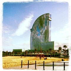 Photo taken at W Barcelona by Jordi S. on 2/16/2013