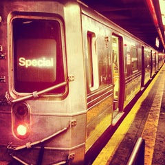 Photo taken at MTA Subway - F Train by Nick G. on 4/30/2013