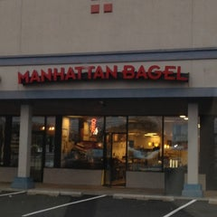 Photo taken at Manhattan Bagel by Where's J. on 10/2/2012