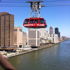 Photo taken at Roosevelt Island Tram by Kevin T. on 5/5/2013