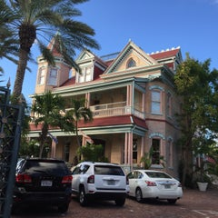 Photo taken at The Southernmost House by Rosa M. on 11/3/2015
