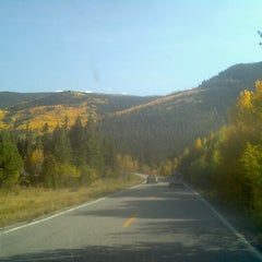 Photo taken at Independence Pass by Marci J. on 9/21/2012