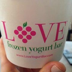 Photo taken at LOVE Frozen Yogurt Bar by Tracy R. on 6/19/2014