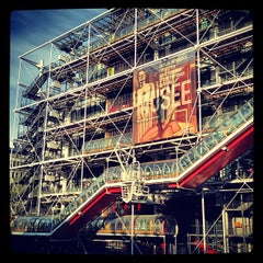Photo taken at Centre Pompidou – Musée National d'Art Moderne by Stratos T. on 5/15/2013