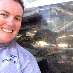 Photo taken at Aquatica San Diego by Carlyn on 9/18/2015