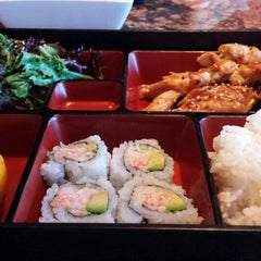 Photo taken at Sushi Axiom by Julie M. on 6/10/2013