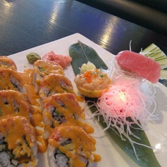 Photo taken at Sushi Japan by Amy F. on 6/15/2014